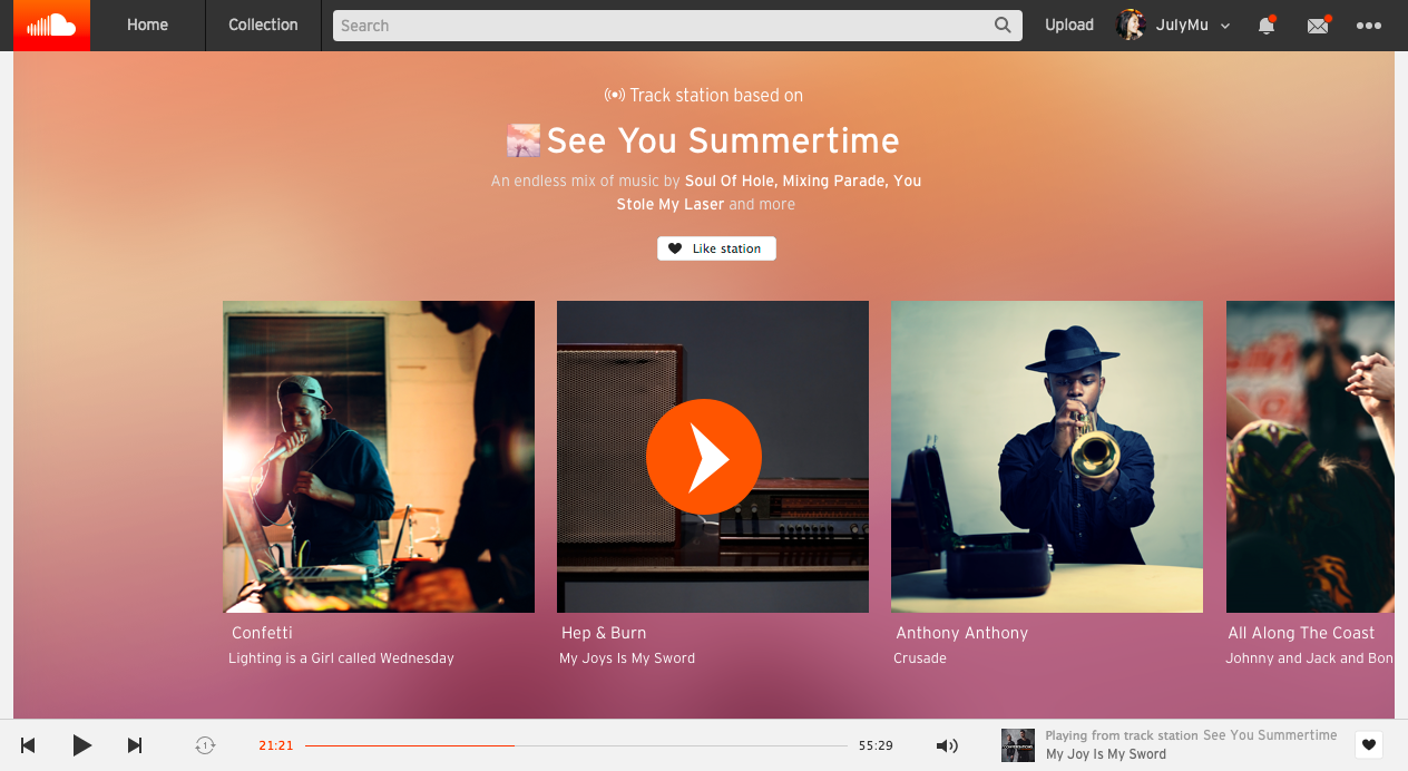 Stations and how they work – SoundCloud Help Center