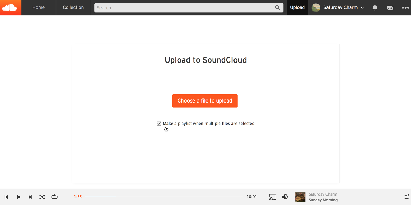Uploading playlists – SoundCloud Help Center